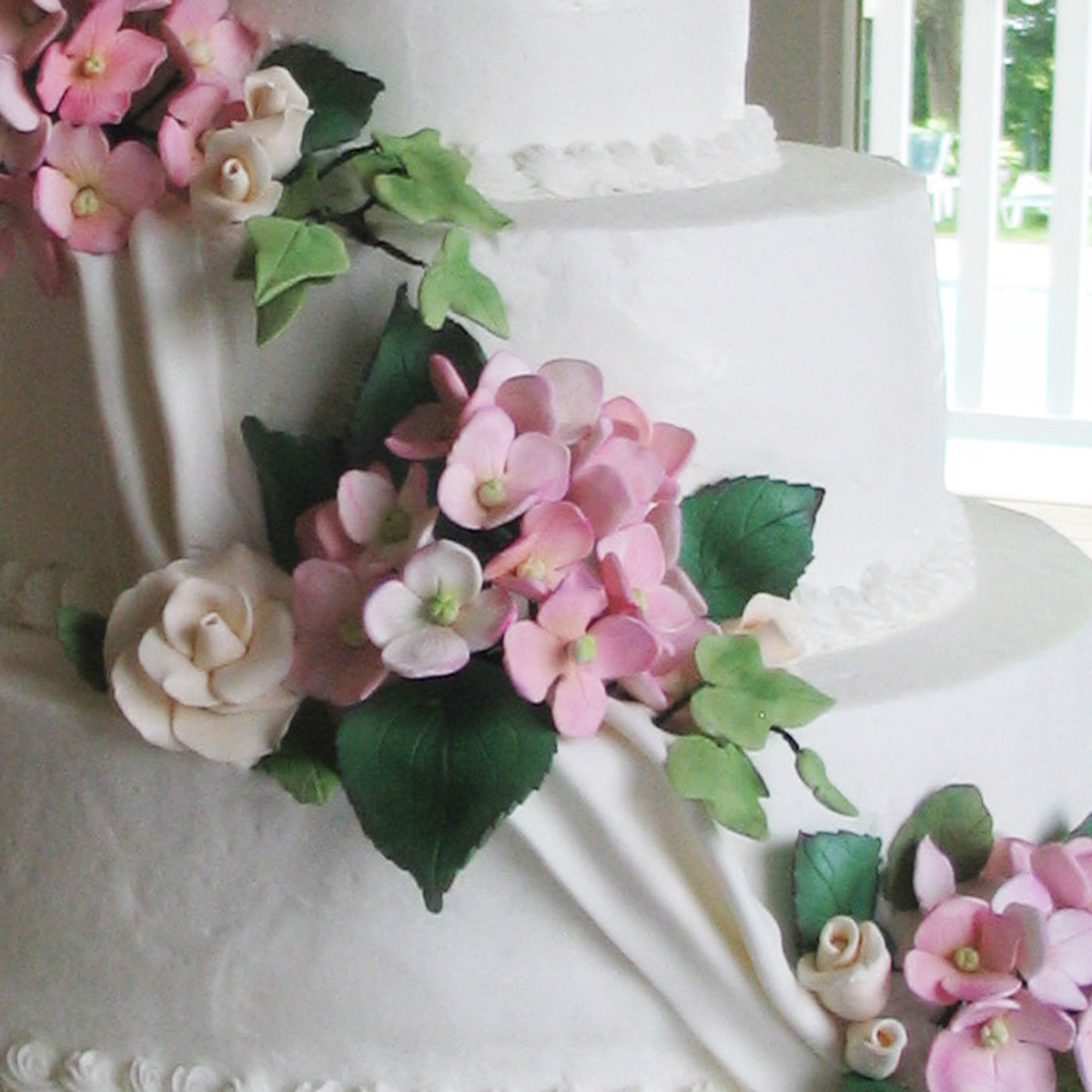 Custom Wedding Cakes by Penny Worcester MA